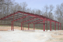 red iron steel buildings charlotte nc